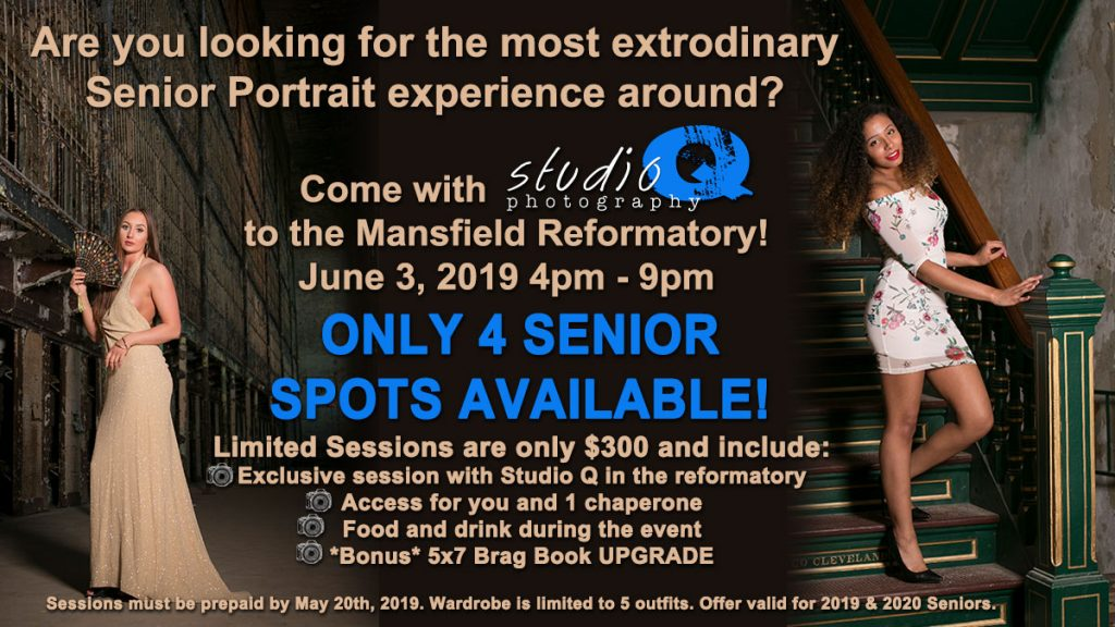 Sign up for our Ultimate Senior Portrait Experience